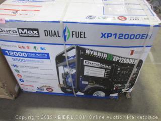 Duro Max Dual Fuel Generator