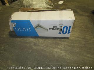"""Lucid 10"""" Gel Memory Foam Mattress, Twin XL"""