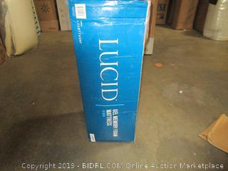 Lucid 10 Inch Gel Memory Foam Mattress, Twin