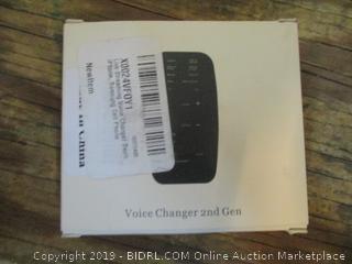 Voice Changer 2nd Gen
