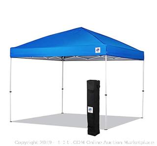 E-Z Up Envoy 10 x 10 royal blue canopy