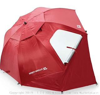 Sports Brella extra large deep red shade