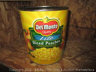 Del Monte Canned Diced Peaches