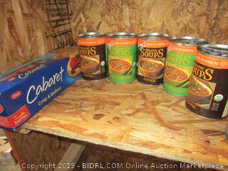 Canned and Boxed Food