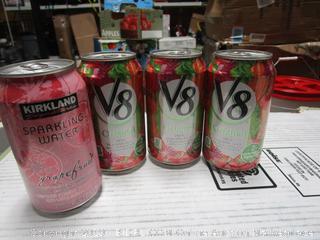 V8 Tomato Juice + Kirkland Sparkling Water