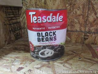 Teasdale Canned Black Beans