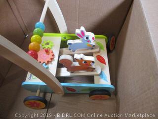 Wooden Kids Walker Toy