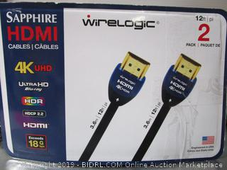 Sapphire 4K HD Cables