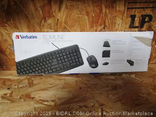Verbatim Slimline Key Board