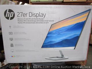 Hp 27er Display Backlit Monitor
