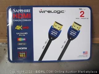 Sapphire HDMI Cables