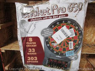 Cricket Pro 650 Dartboard Game