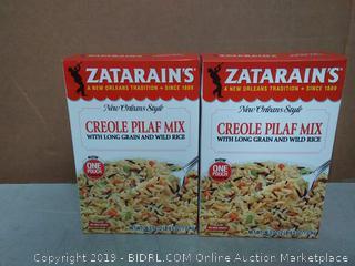 Zatarain's Creole Pilaf Mix 2pck