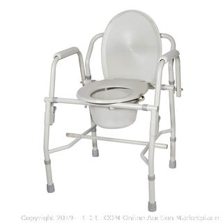 KD Deluxe steel drop arm commode(Factory Sealed) COME PREVIEW!!!!