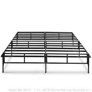 Zinus Dawn 14 Inch Easy To Assemble SmartBase Mattress Foundation / Platform Bed Frame Full Factory sealed