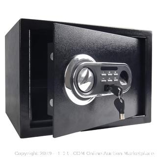 digital electric lock and key safe(Factory Sealed/Box Damage) COME PREVIEW!!!!! (online $99)