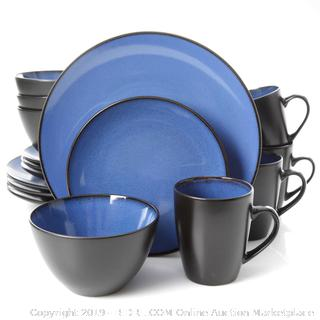SOHO round 16 piece blue and black set(Factory Sealed/Box Damage) COME PREVIEW!!!!!