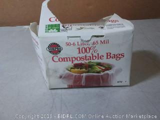 Norpro 100% Compostable Small Bags, 50 Count (870)