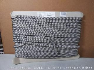 silver rope trimming 50 yards