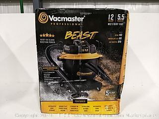 Vacmaster  Professional Wet/Dry Vac 12 Gal