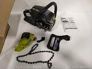 """Ryobi Factory Reconditioned 37cc 14"""" Chainsaw"""