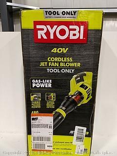 Ryobi Cordless Jet Fan Blower Tool Only