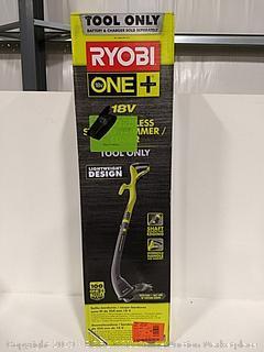 "Ryobi 10"" Cordless String Trimmer/Edger Tool Only"