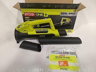 Ryobi Cordless Blower Tool Only