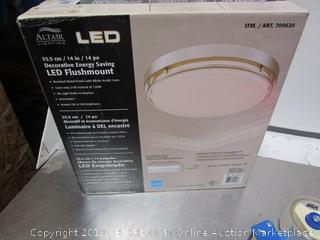 Altair Led Flushmount Light