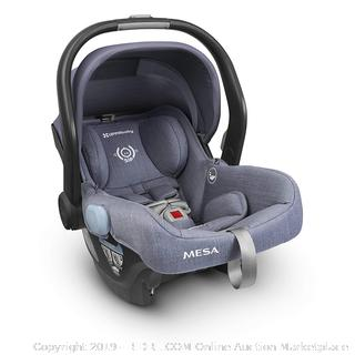 2018 UPPAbaby MESA Infant Car Seat - Henry (Blue Marl) Merino Wool Version/Naturally Fire Retardant(Factory Sealed/Box Damage) COME PREVIEW!!!! (online $349)