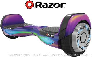 Razor Hovertrax 2.0 DLX Hoverboard Self-Balancing Smart Scooter(Powers On) online $199