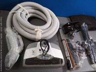 30' Deluxe Central Vacuum Accessory Kit (online $228) This is the kit only