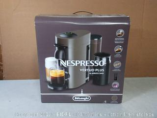 Nespresso by De'Longhi ENV150GYAE VertuoPlus Coffee and Espresso Machine Bundle with Aeroccino Milk Frother(Factory Sealed)COME PREVIEW!!!! (online $154)