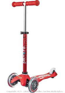Micro Scooter Mini Micro Deluxe Red(Factory Sealed) COME PREVIEW!!!! (online $89)