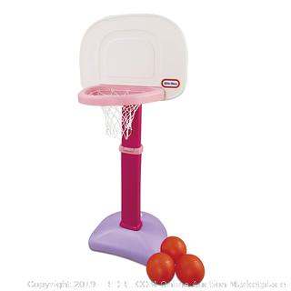 Little Tikes Easy Score Basketball Set (Pink) Basketball Set(Factory Sealed) COME PREVIEW!!!! (online $34)