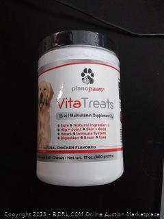 VitaTreats 15 in 1 multivitamin supplement for dogs