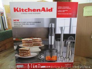 Kitchen Aid 5 Speed Hand Blender