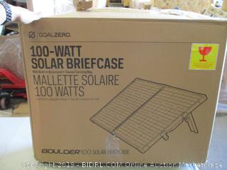 100-Watt Solar Briefcase (Damaged)