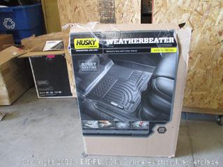 Front and Second Seat Floor Liners