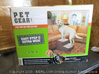 Pet Gear Easy Step Extra Wide