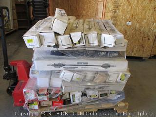 Auto Parts Pallet
