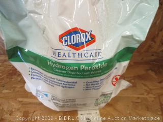 Clorox Healthcare Hydrogen Peroxide Cleaner Disinfectant Wipes