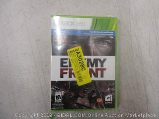 XBox 360 Enemy Front game