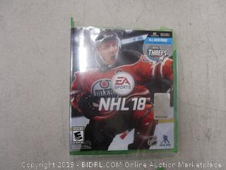 NHL 18 Game