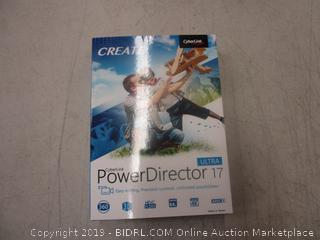 Create Power Director 17