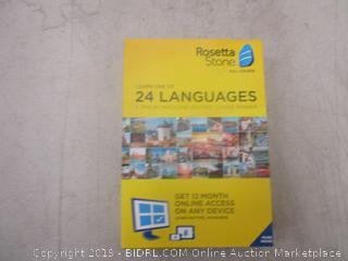 Rosetta Stone Language Learning