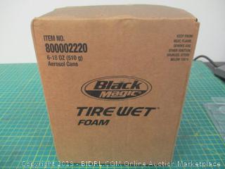 Tire Wet foam