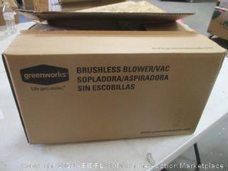 Greenworks Brushless Blower Vacuum