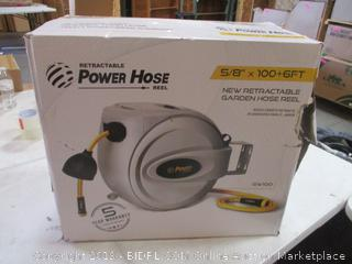 Power Hose New Retractable Garden Hose Reel