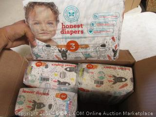 Honest Diapers Size 3